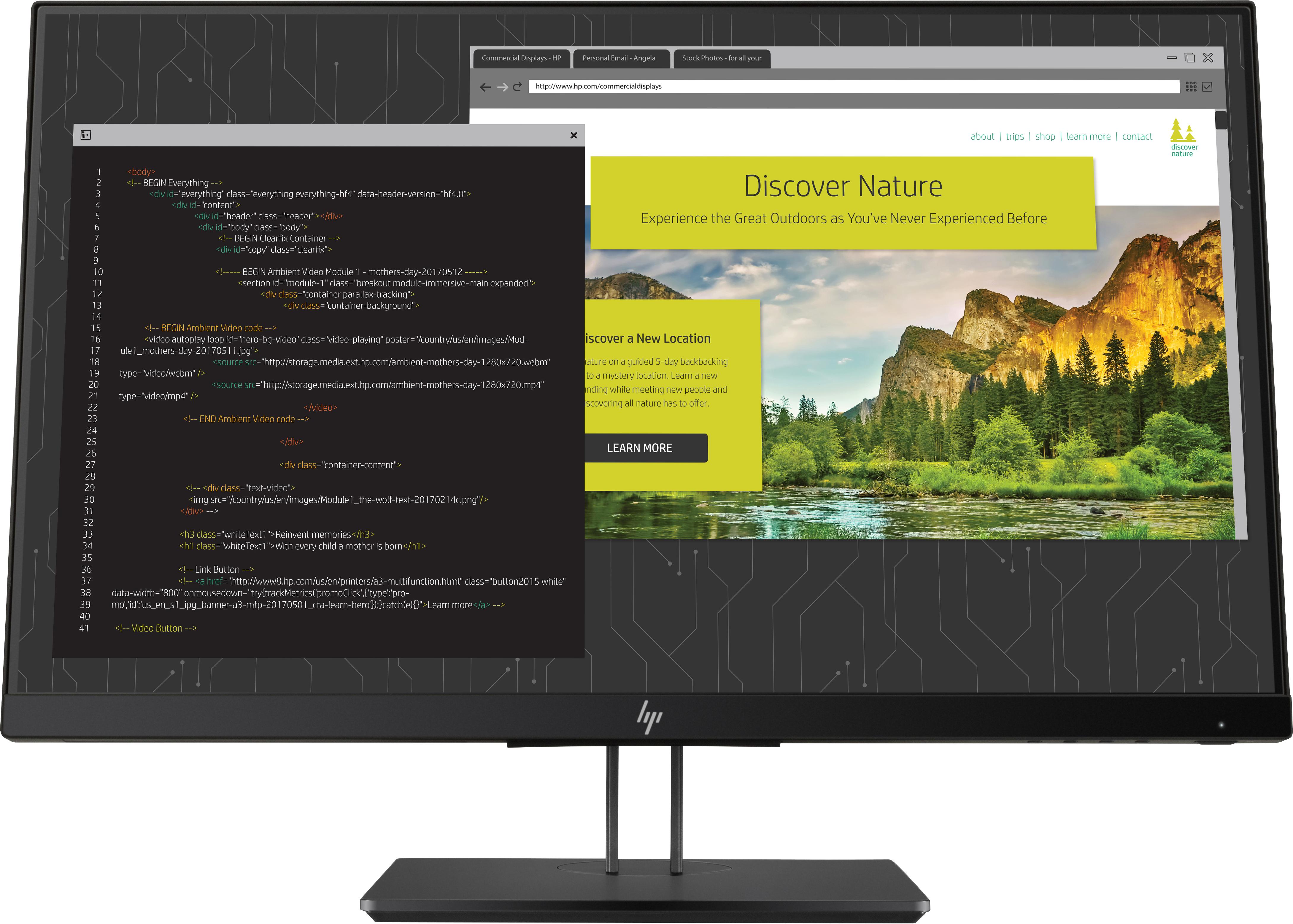 Monitor HP Z24nf G2, Diagonala 23,8Inch, 1920 x 1080 FHD 0